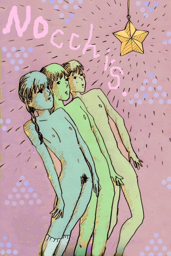 「Nocchi's Room」 2013年4月作成 (WEB小説:「煩悩サンスクリット」挿絵)