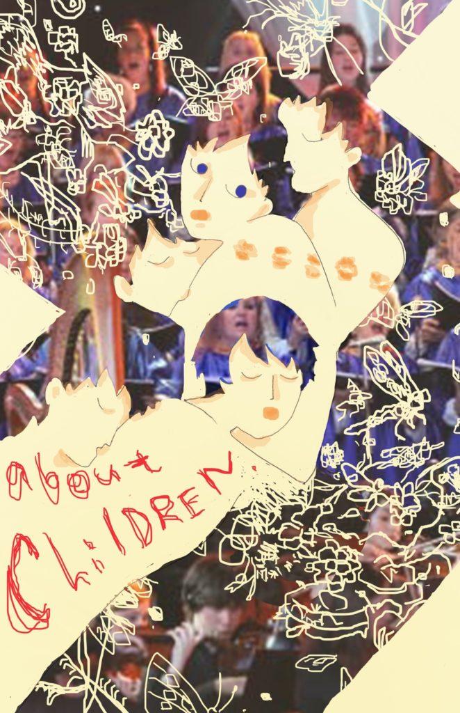 「子どものエロス」 2015年5月作成 (演劇キック:「小野寺ずるのお散歩エロジェニック」連載イラスト)